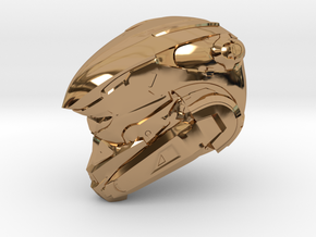 Anubis 1/6 Scaled helmet in Polished Brass
