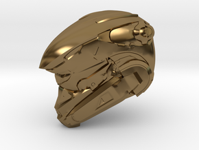 Anubis 1/6 Scaled helmet in Polished Bronze