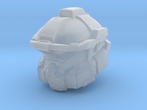 Halo Fred/centurion helmet 1/6 scale in Smooth Fine Detail Plastic