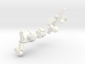 Overseer (mobile Missile) in White Processed Versatile Plastic