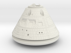 Orion Crew Module 1:16 in White Strong & Flexible