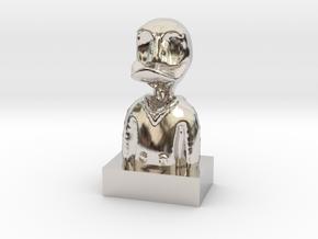 Duck in Platinum