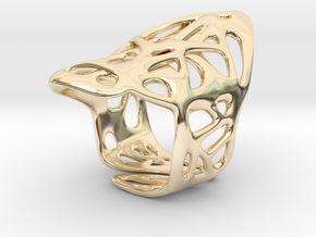 The Weave Ring in 14K Yellow Gold