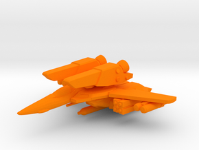 VF-1A SUPER 1/350 in Orange Processed Versatile Plastic