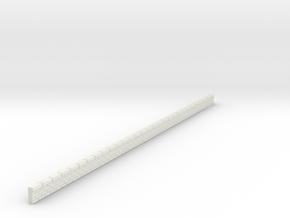 NQP03 Railway platform in White Natural Versatile Plastic