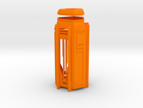 Ingress Key Locker in Orange Processed Versatile Plastic