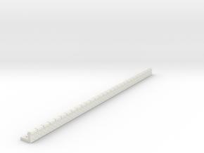 NQP06 Railway platform in White Natural Versatile Plastic