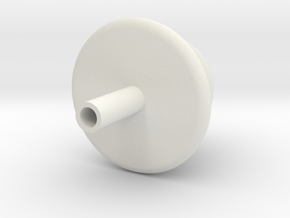 Customizable Tree Ornament in White Natural Versatile Plastic
