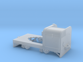 Jung Feldbahntriebwagen Spur 0e/f Variante 1 in Smooth Fine Detail Plastic