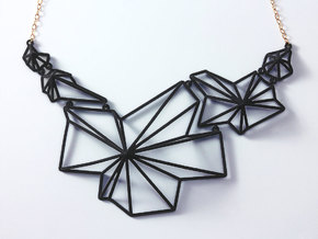 Andromeda Necklace in White Natural Versatile Plastic