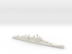 Boston-Class Cruiser, 1/1800 in White Natural Versatile Plastic