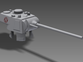 1/100 T-12-90 Turret in White Strong & Flexible