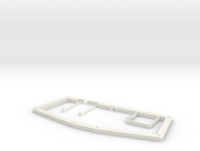 atreus_bluetooth OpenSCAD version in White Natural Versatile Plastic