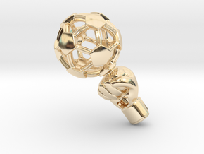 iFTBL Zero / The One in 14k Gold Plated Brass