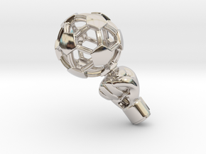 iFTBL Zero / The One in Rhodium Plated Brass