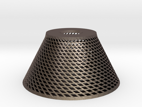 Conical Lampshade in Stainless Steel