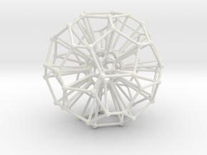 Mehtikruton Object 458 5cm in White Strong & Flexible