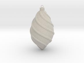 Spiral Ornament 1 in Natural Sandstone