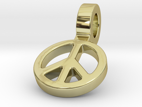 World Peace in 18k Gold