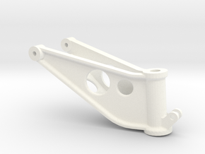 Westland Wessex Tail undercarriage yoke in White Processed Versatile Plastic