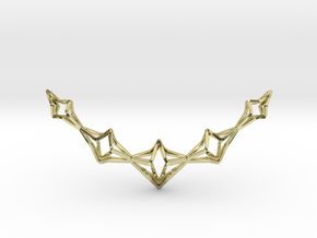 """YOUNIVERSAL """"Little Big Smile"""" Pendant in 18k Gold Plated Brass"""