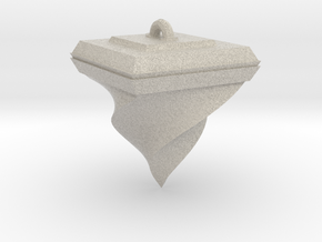 Twisted Pyramid in Natural Sandstone