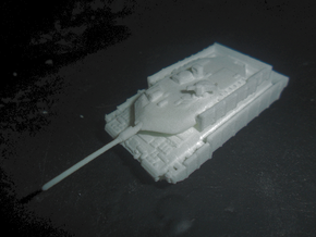 MG144-G03A Leopard2A6M in White Natural Versatile Plastic