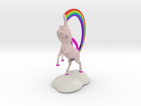 FUnicorn in Full Color Sandstone