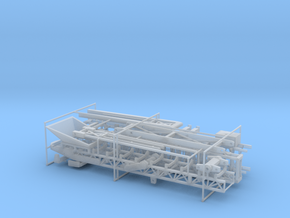 1/87th Rock Materials Folding Conveyor Stacker in Frosted Ultra Detail