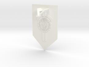 Battlestar Galactica Display v1 (Models to 1/64) in White Processed Versatile Plastic