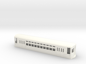 CTA 1-50 Series, Ravenswood Car in White Strong & Flexible Polished