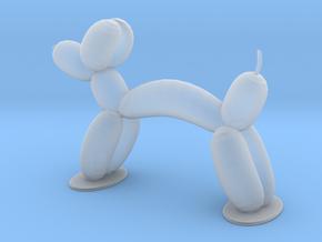 BALLON ANIMAL - DOG  in Smooth Fine Detail Plastic
