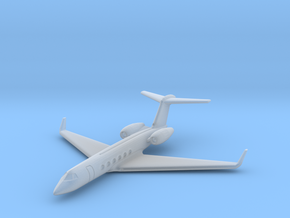 1:700 GulfStream V Business Class Jet Plane.  in Smooth Fine Detail Plastic