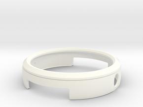 Moto360(1st generation) BUMPER in White Processed Versatile Plastic