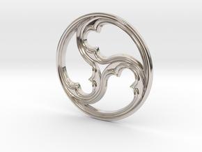 Triskele for geobiology in Platinum