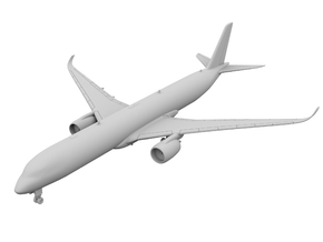 1:400 - A350-1000 in Frosted Ultra Detail