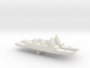 ESPS F-110 Frigate x 2, 1/3000 in White Natural Versatile Plastic