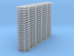 "N scale 40""x48"" pallet - 100 pack in Smooth Fine Detail Plastic"