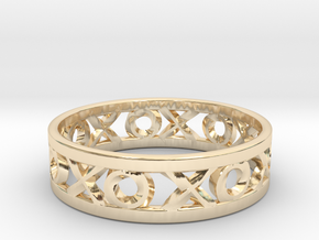 Size 6 Xoxo Ring in 14K Yellow Gold