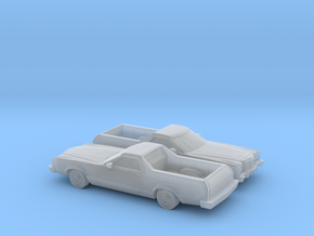 1/160 2X 1977-79 Ford Ranchero in Frosted Ultra Detail
