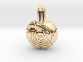 Spiral in 14K Yellow Gold