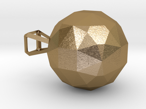 CODE: WP36S - PENDANT in Polished Gold Steel