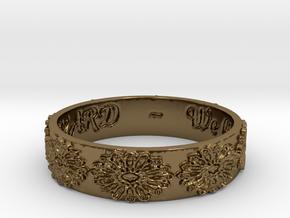 Vangaurd 2B 8.5 Ring Size 8.5 in Polished Bronze