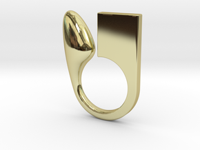 Kin  - Size L in 18k Gold Plated Brass