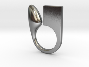 Kin - Size XS in Polished Silver