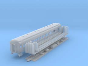 N-scale (1/160) PRR P70 Passenger Car  in Frosted Ultra Detail