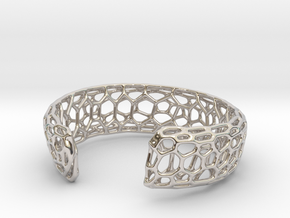 Frohr Design Bracelett Cell Cylce C in Rhodium Plated Brass