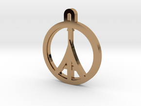 Paris Peace in Polished Brass