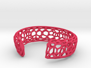 Frohr Design Bracelett Cell Cylce C in Pink Processed Versatile Plastic
