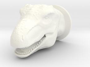 T-rex in White Processed Versatile Plastic